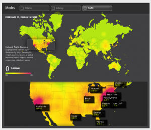Akamai Traffic Visualization