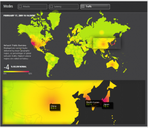 Akamai Traffic Visualization 2