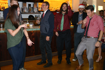 holiday party at PINT Inc.