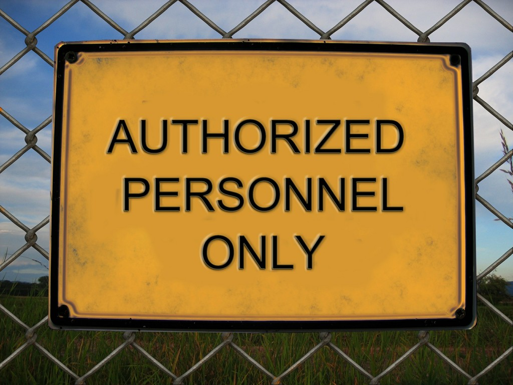 authorization sign