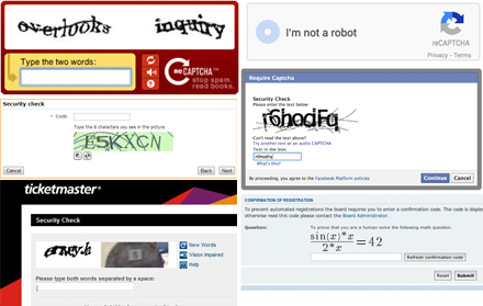 captcha collection