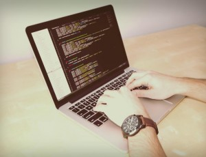 coding on a laptop not necessary with a cms