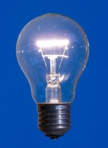 light bulb for understanding ideas