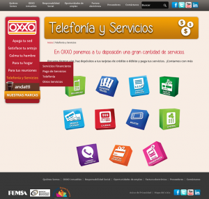 Services page after website redesign