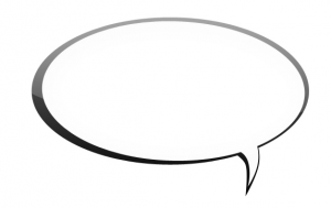 speech balloon for language and sensemaking