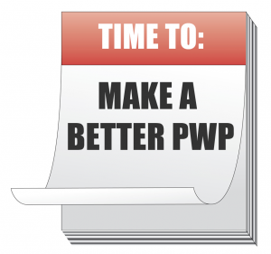 calendar time to discuss PWP: the PINT built CMS