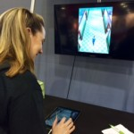 Omnicell video game app at tradeshow