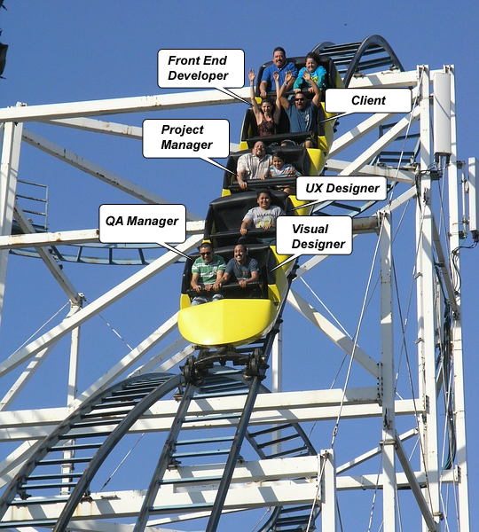 web project rollercoaster