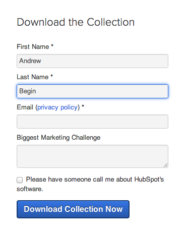 Hubspot form validation example - 1 of 2]